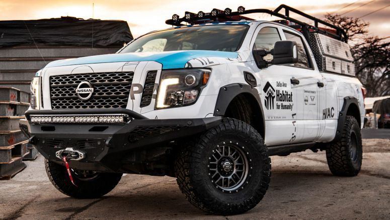 Nissan Ultimate Work Titan Is A One-Off Truck For Home Builders