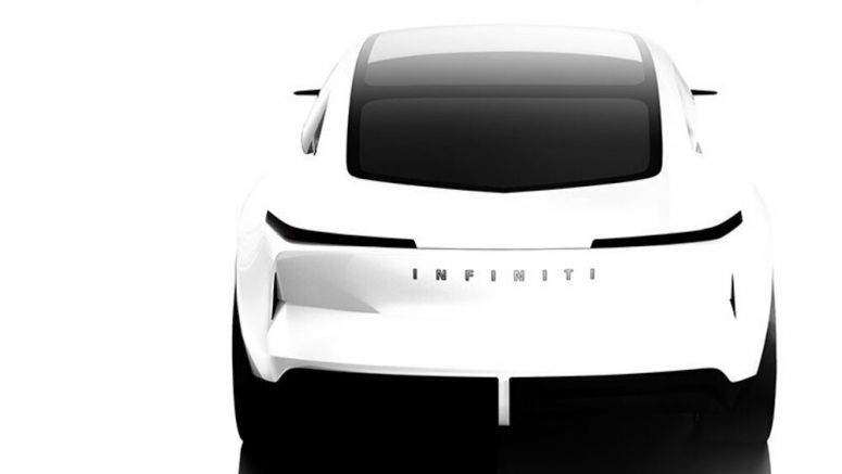 Infiniti teases Qs Inspiration electrified sedan concept for Auto Shanghai