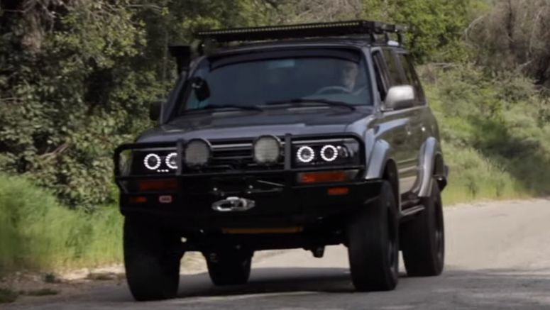 Joe Rogan's Restomod Icon Toyota Land Cruiser LSA V8 Is A Dream Off-Roader