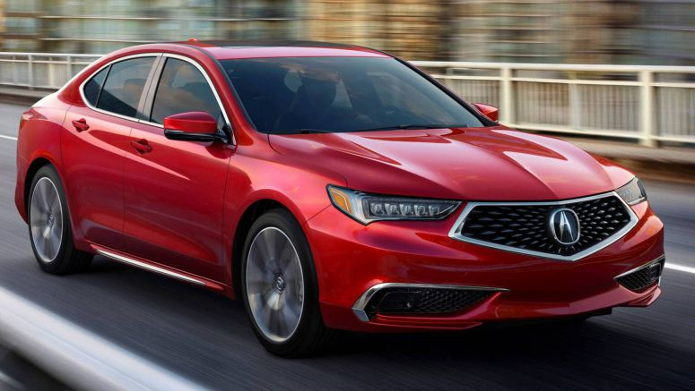No April Fools' Joke: 2020 Acura TLX's Only Updates Are Four Colors