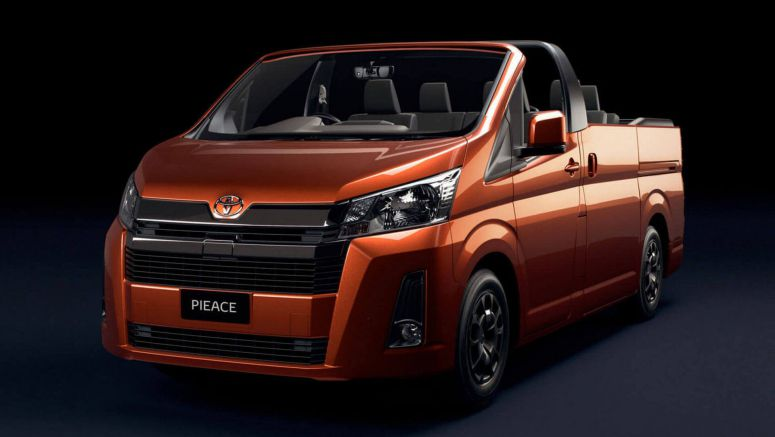 Toyota HiAce 'PieAce' Convertible Invites You To Have Your Cake And Eat It