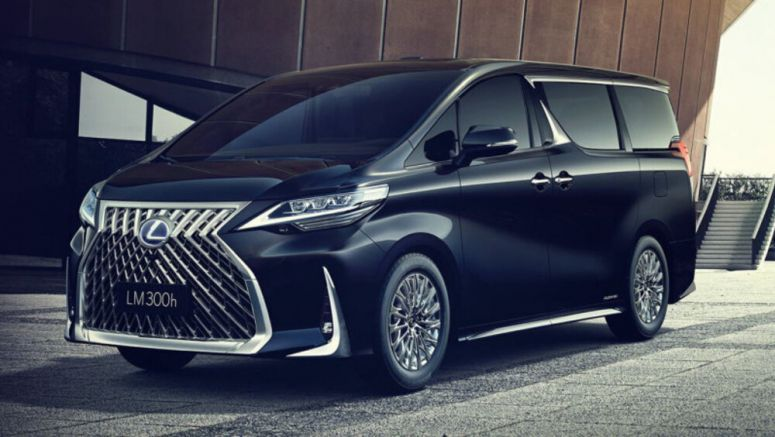 Lexus LM is a first-class minivan that's not for America