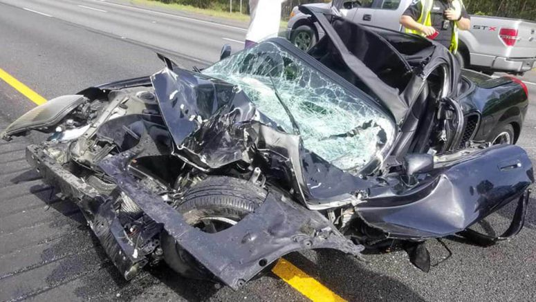 Driver Escapes From Horrific MR2 Crash, Says
