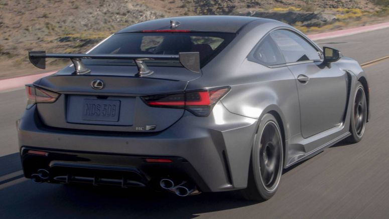 Lexus Slaps $96,650 Price Tag On 2020 RC F Track Edition