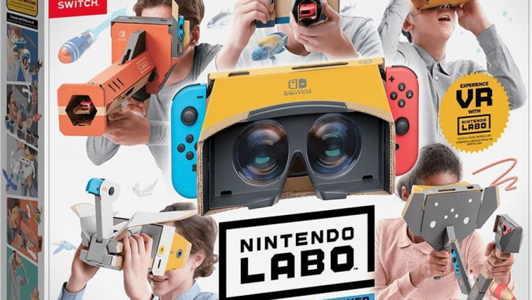 Zelda: Breath of the Wild, Super Mario Odyssey To Get VR Support For Nintendo Labo