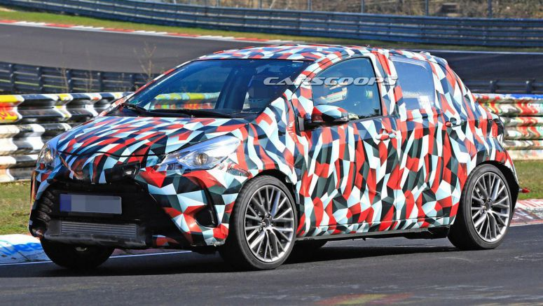 Toyota Yaris Spied On The 'Ring – Is It A Next-Gen Performance Version?