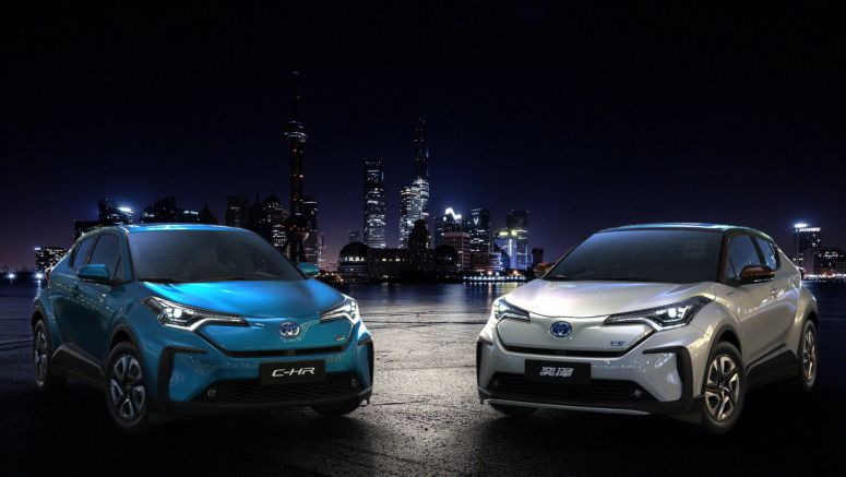 Toyota Enters The Chinese EV Arena With Two Battery Electric C-HRs