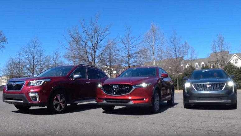 New Cadillac XT5 Vs. Loaded Mazda CX-5 And Subaru Forester Makes For An Interesting Comparison
