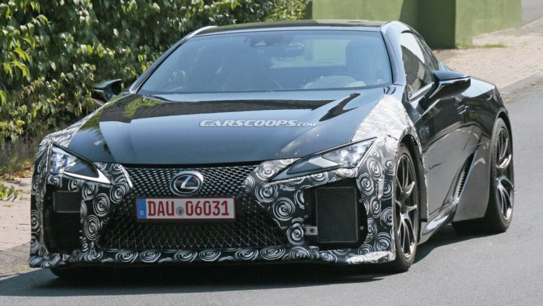 Lexus Could Reveal The Long-Awaited LC F Later This Year