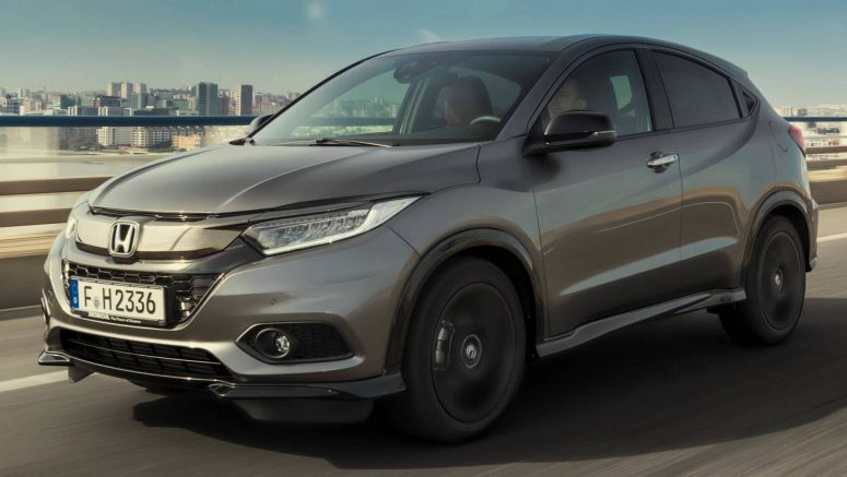 2019 Honda HR-V Sport Is The Fastest Of The Range, Still Has A Manual