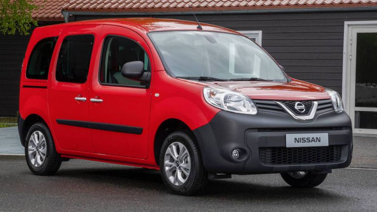Badge-Engineered Nissan NV250 Compact Van Debuts In Europe