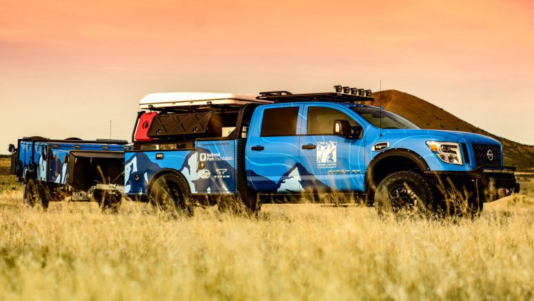 Nissan Ultimate Parks Titan Is A Purpose-Built Truck For The Grand Canyon