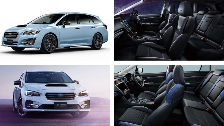 Subaru Levorg Gets STI Sport Black Selection And EyeSight Advantage Line Grades