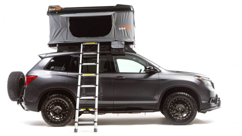 Say Goodbye To Hotels With Overland Honda Passport And Ridgeline Projects