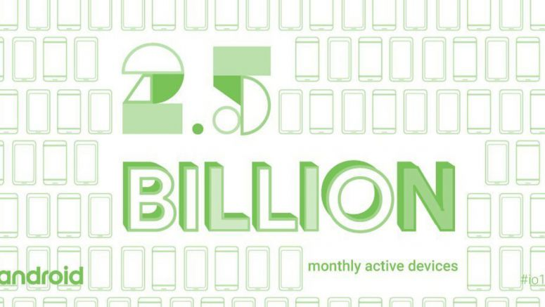 There Are Over 2.5 Billion Active Android Devices