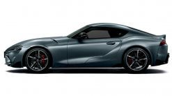 Special Toyota Supra Matte Storm Gray Limited To 24 Units In Japan