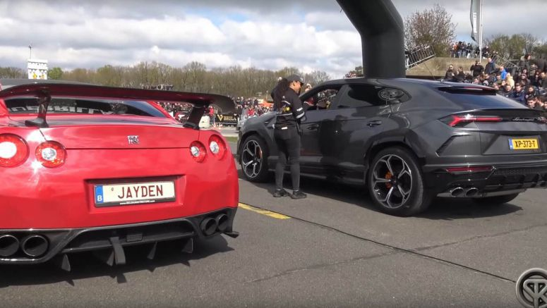 Nissan GT-R Wants To Show Lamborghini Urus Who's The Boss