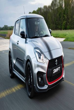 Suzuki Swift Sport Katana Is A Dutch-Only Limited Edition Model