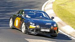 Road-Going Alpine A110 GT4 Spied, Could Get As Much As 296 HP