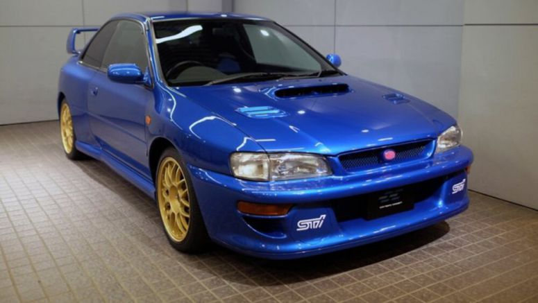 Prototype Subaru Impreza 22B emerges from obscurity
