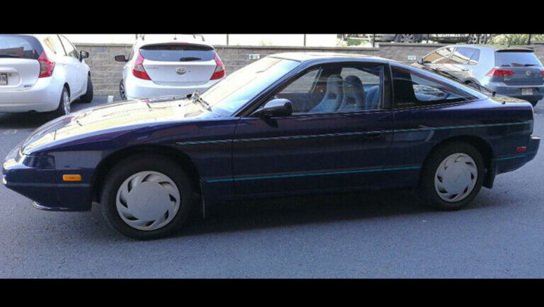 Original 1990 Nissan 240SX With 41k Miles For $5.5k Sounds Tempting