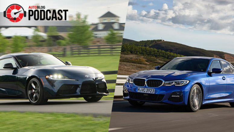 Driving the Toyota Supra, Honda Passport and BMW 3 Series | Autoblog Podcast #582