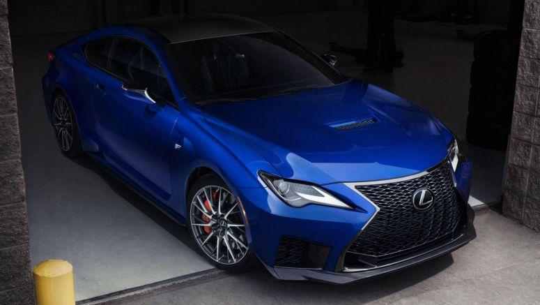 2019 Lexus RC F Touches Down In The UK With £62,900 Starting Price