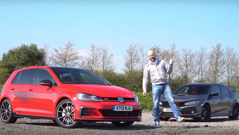 VW Golf GTI TCR Vs. Honda Civic Type R: Which One's Better On Track?