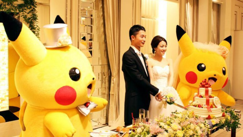Want An Official Pokemon-Themed Wedding? Head To Japan
