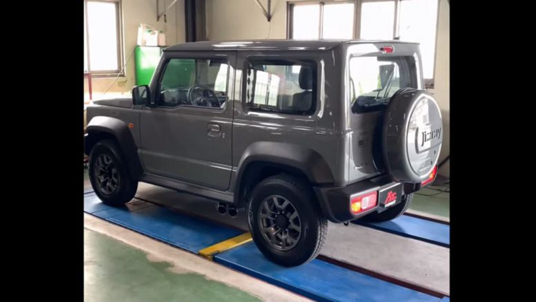 Suzuki Jimny Gets Side-Exiting Exhausts For The Full G63 Effect