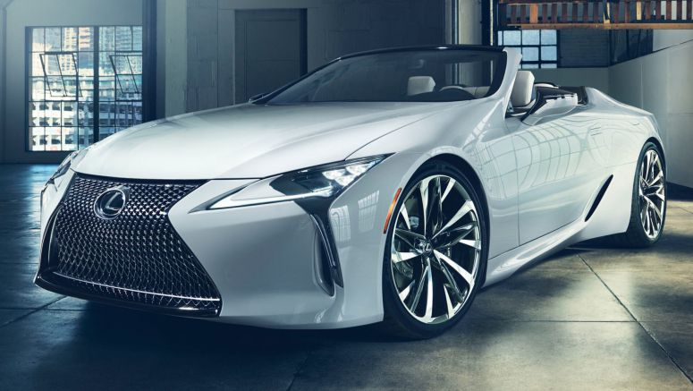 Production Lexus LC Convertible Set For Goodwood Debut
