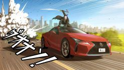 Lexus Commissions Original Manga Artworks For ES, UX And LC