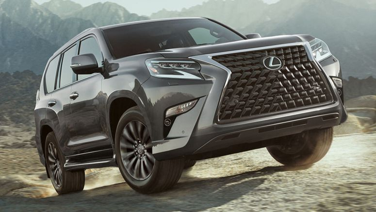 2020 Lexus GX Puts BMW's Massive Kidney Grille To Shame, Adds Off-Road Package