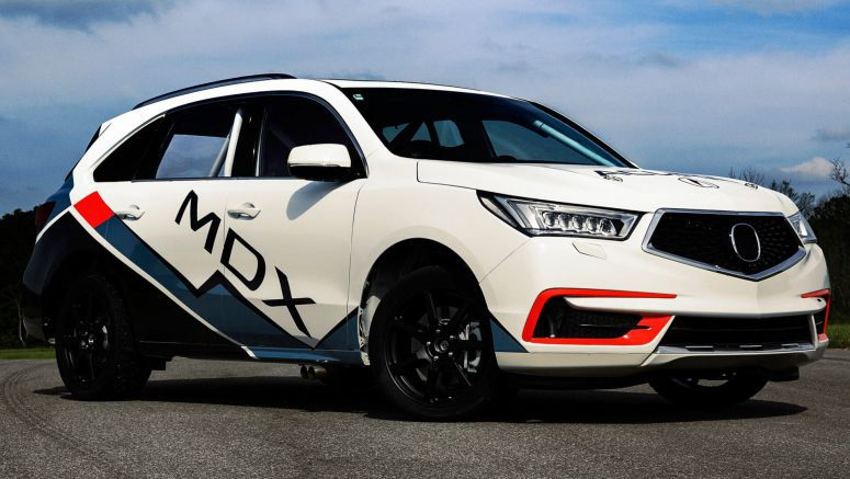 Acura To Tackle Pikes Peak With A 400 HP MDX Sport Hybrid