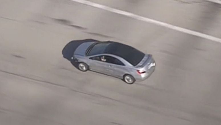 DUI Suspect Leads Police On L.A. Chase In Honda Civic, Then He Walks Away