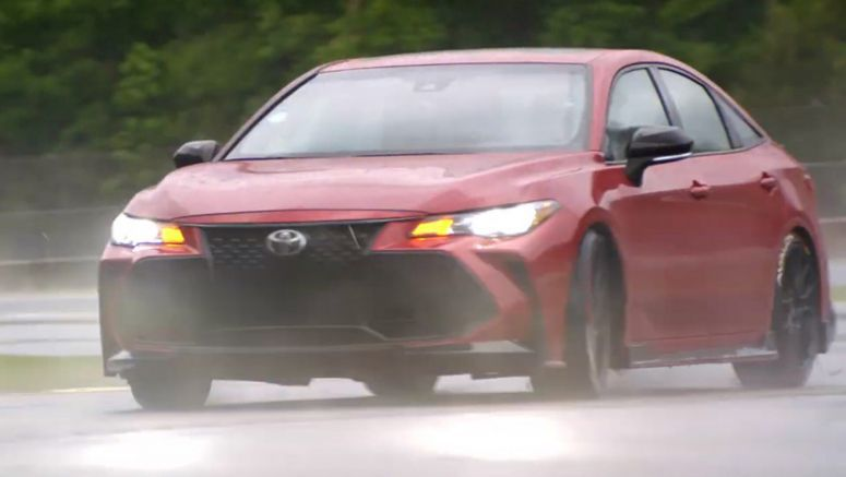 2020 Toyota Avalon TRD Goes Drifting – With A Twist