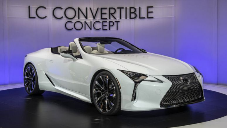 Lexus LC Convertible might be revealed at the Goodwood Festival of Speed