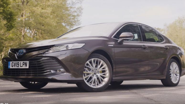 Europe's Toyota Camry Hybrid Is Not Exciting To Drive, But It Does The Job Without Complaining