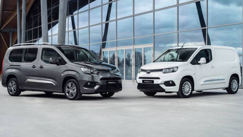 Toyota Proace And Proace City To Get All-Electric Versions In 2020 And 2021