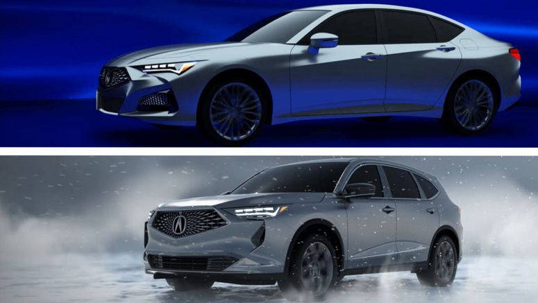 New Acura MDX And Possible Flagship Sedan Revealed