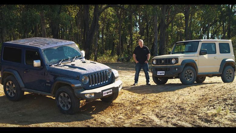 Can The New Suzuki Jimny Keep Up With The Jeep Wrangler?