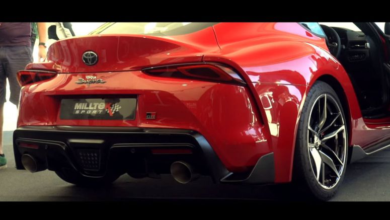 Enjoy The Sounds Of This Aftermarket Exhaust For The New Toyota Supra