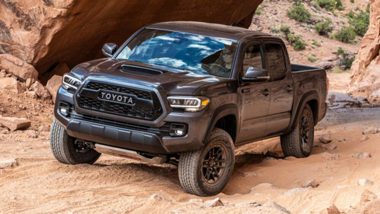 2020 Toyota Tacoma driving review, offroad at Moab - Autoblog