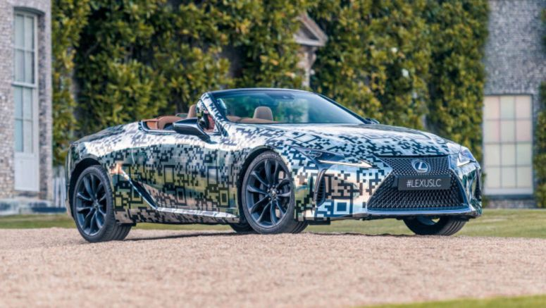 Lexus LC convertible confirmed for production - Autoblog