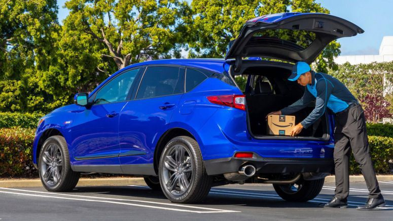 You Can Now Have Amazon Deliver Your Packages Inside Your New Acura RDX