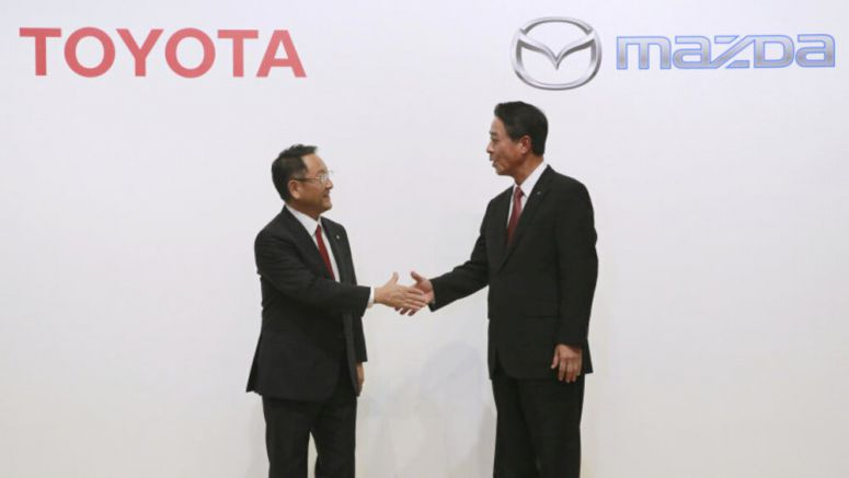 Toyota will build new SUV at Alabama plant it's building with Mazda - Autoblog