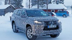 2020 Mitsubishi Pajero Sport Shows Updated Face Ahead Of July 25 Reveal