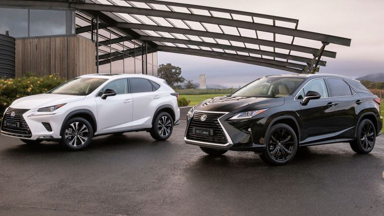 Lexus NX And RX Crafted Into Special Editions Down Under