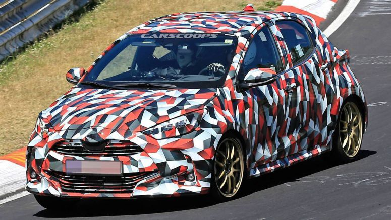 Europe's 2020 Toyota Yaris Makes Spy Debut In GR Sport And Hybrid Flavors
