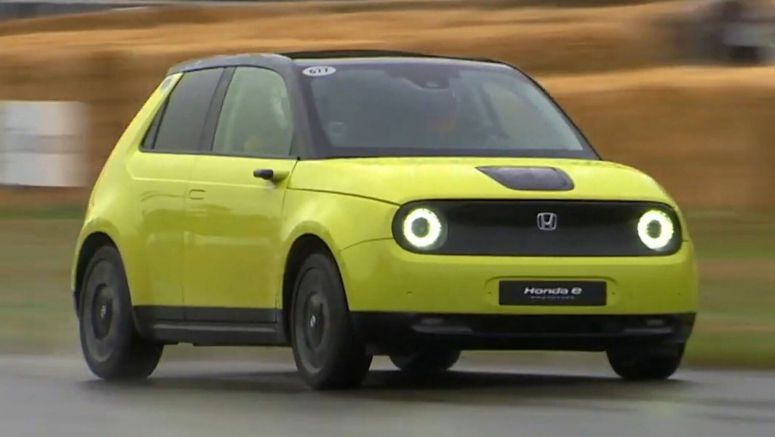 Honda E RWD Electric Prototype Gets Put To The Test By F1 Driver
